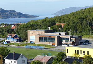 Swimming hall in Kirkenes