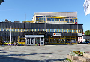 Kirkenes Library at market square