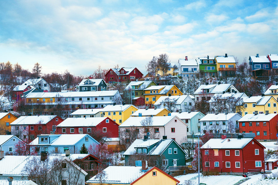 Kirkenes residential buildings